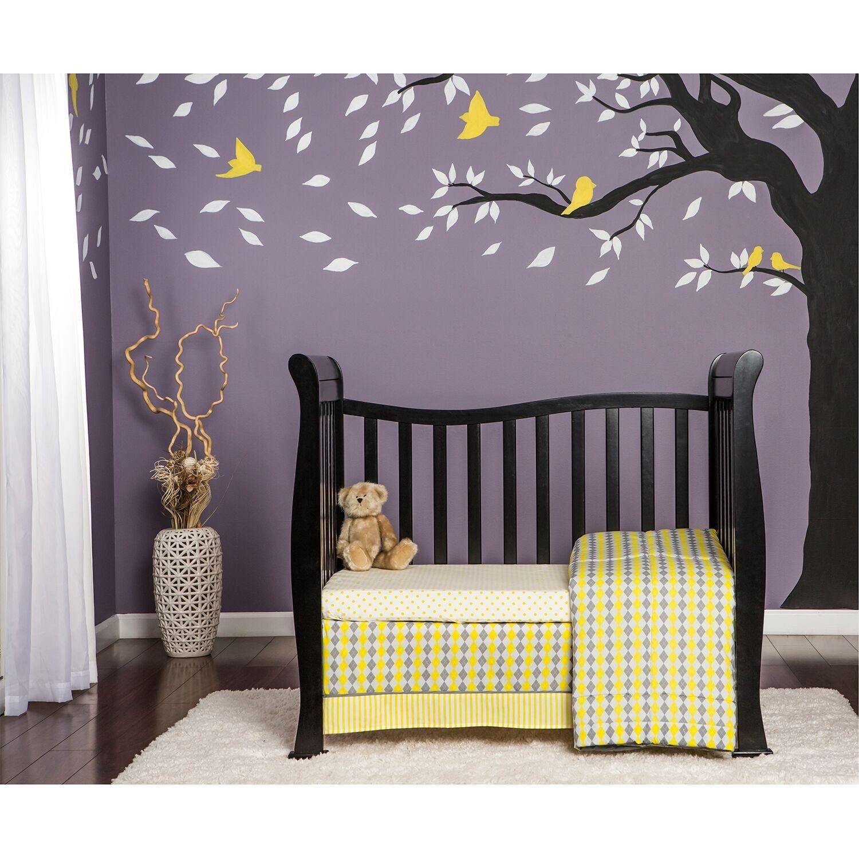 Classic Black 4 In 1 Convertible Mini Crib Piper Mini Crib Cribs Baby Cribs