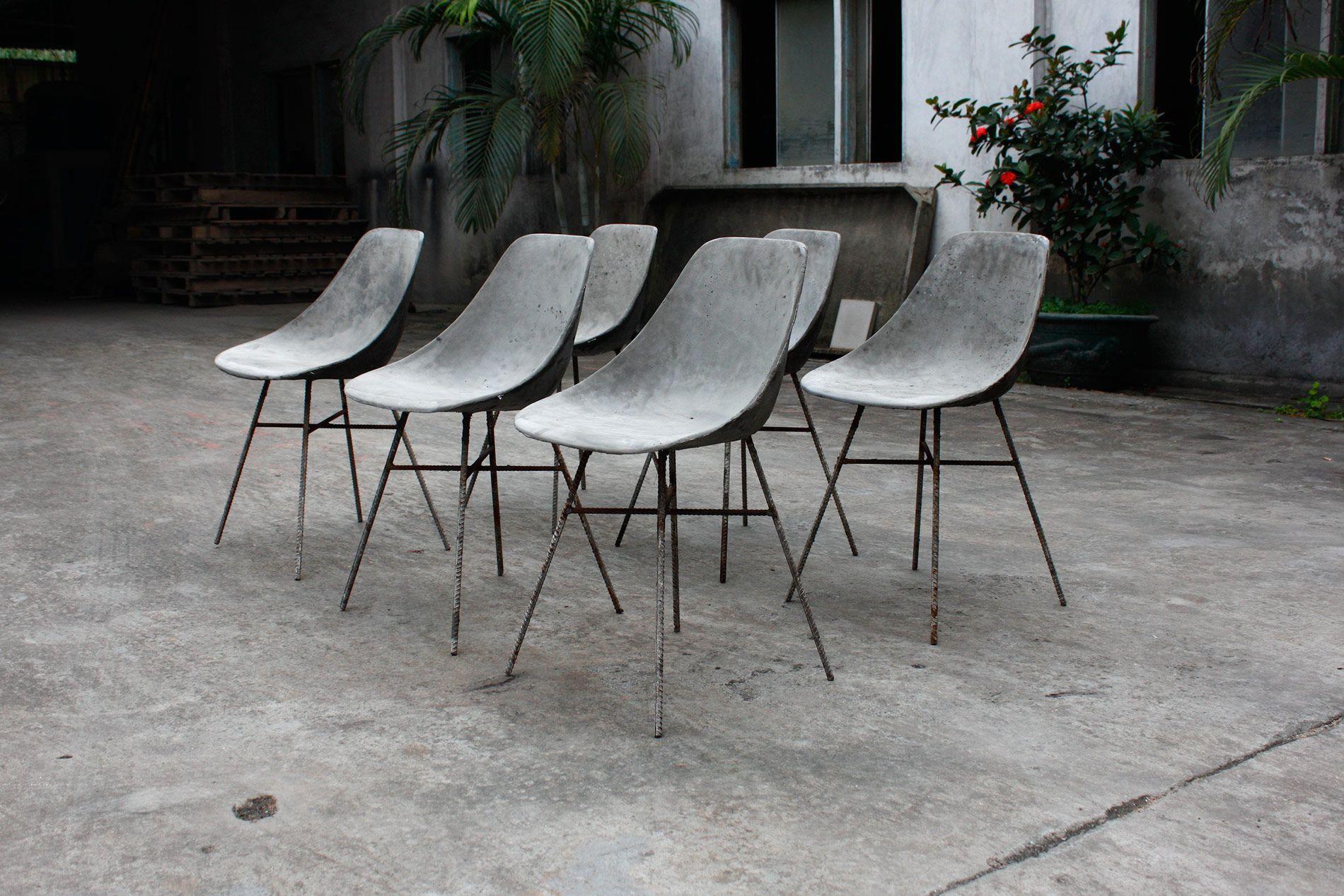 D Hauteville Concrete Chair Want Pinterest