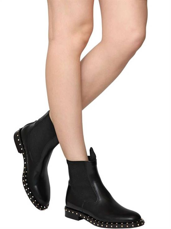 Womens Leather Boots 2018