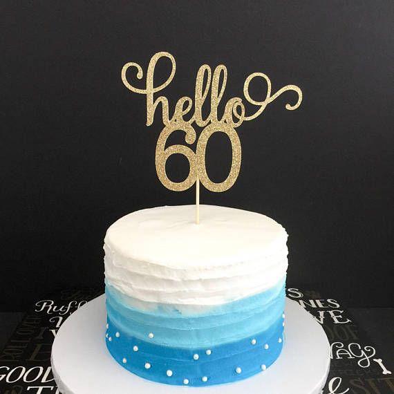 60 Birthday Decoration