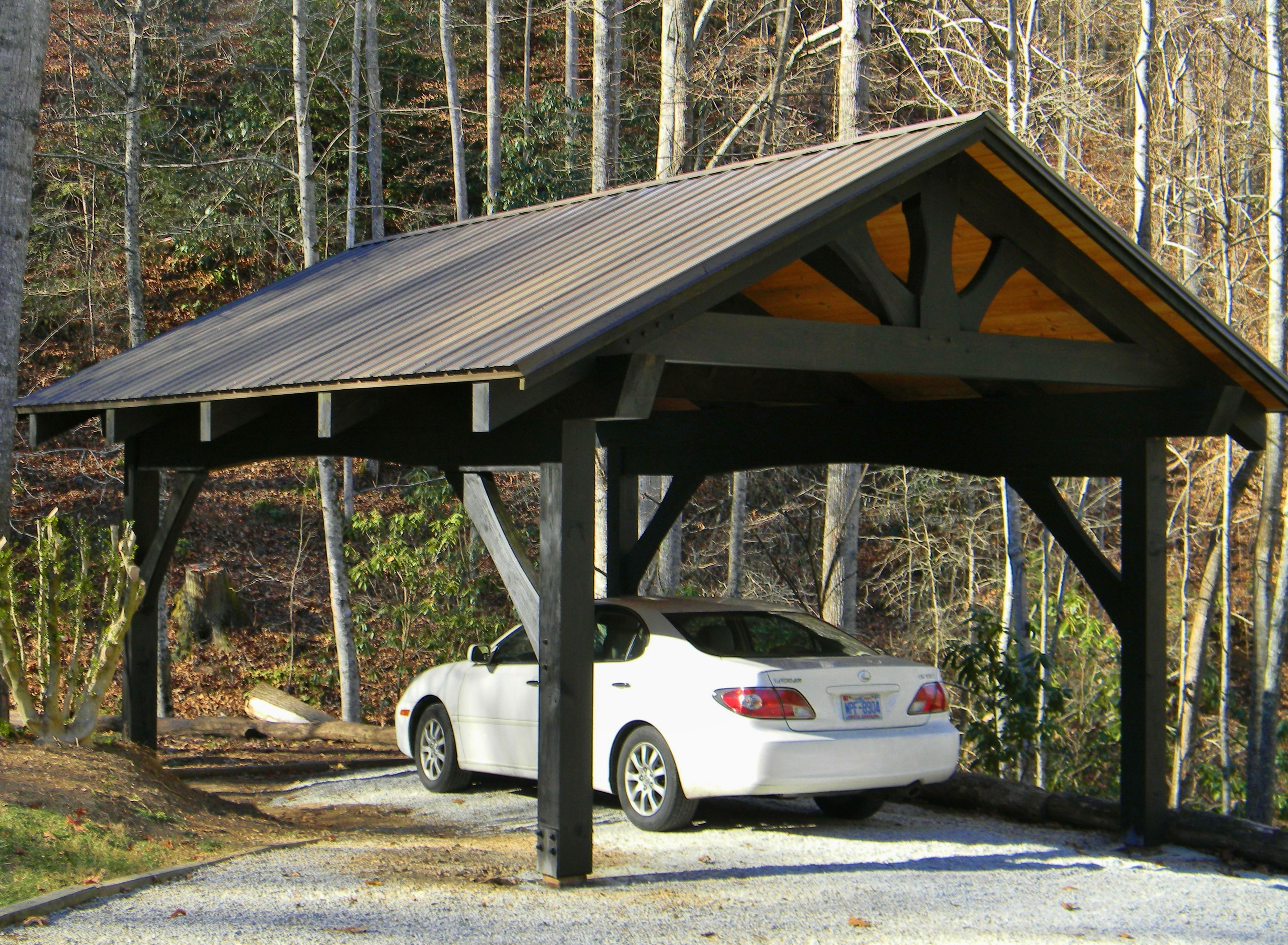 Timber Frame Carports Bing images Carport designs