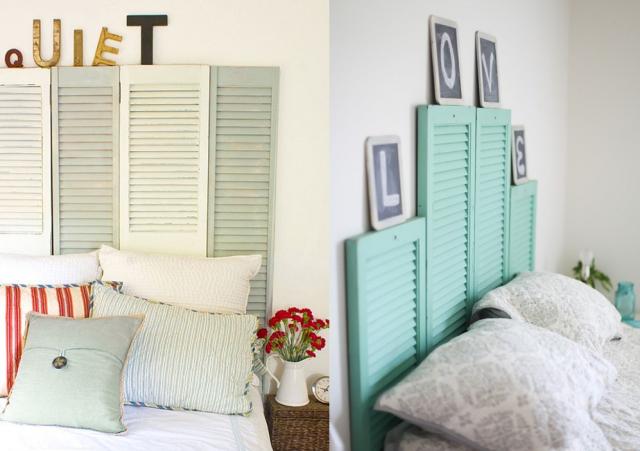Idées Pour Une Tête De Lit DIY Originale Blog Deco Deco Design - Chambre adulte une place