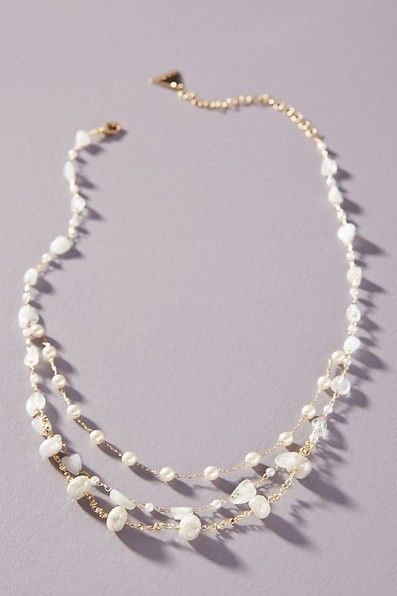Gloria Layered Necklace #travelwardrobesummer