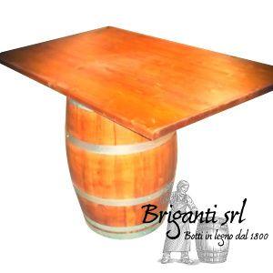 2247 - Tavolo da botte per bar e osteria cod.TLB003