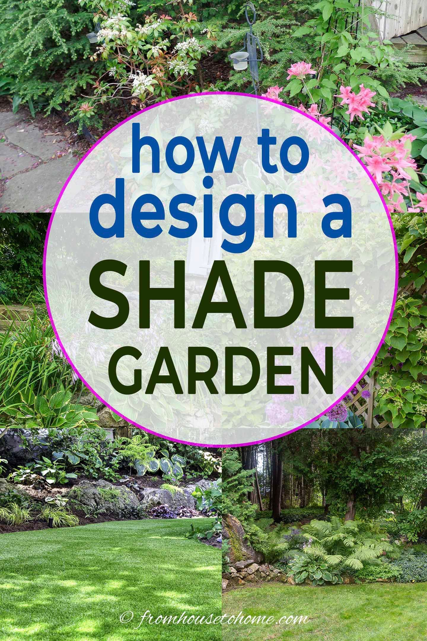 Shade Garden Design Ideas How To Design A Stunning Shade Garden With Pictures Gardening From House To Home Shade Garden Design Shade Garden Shade Garden Plants