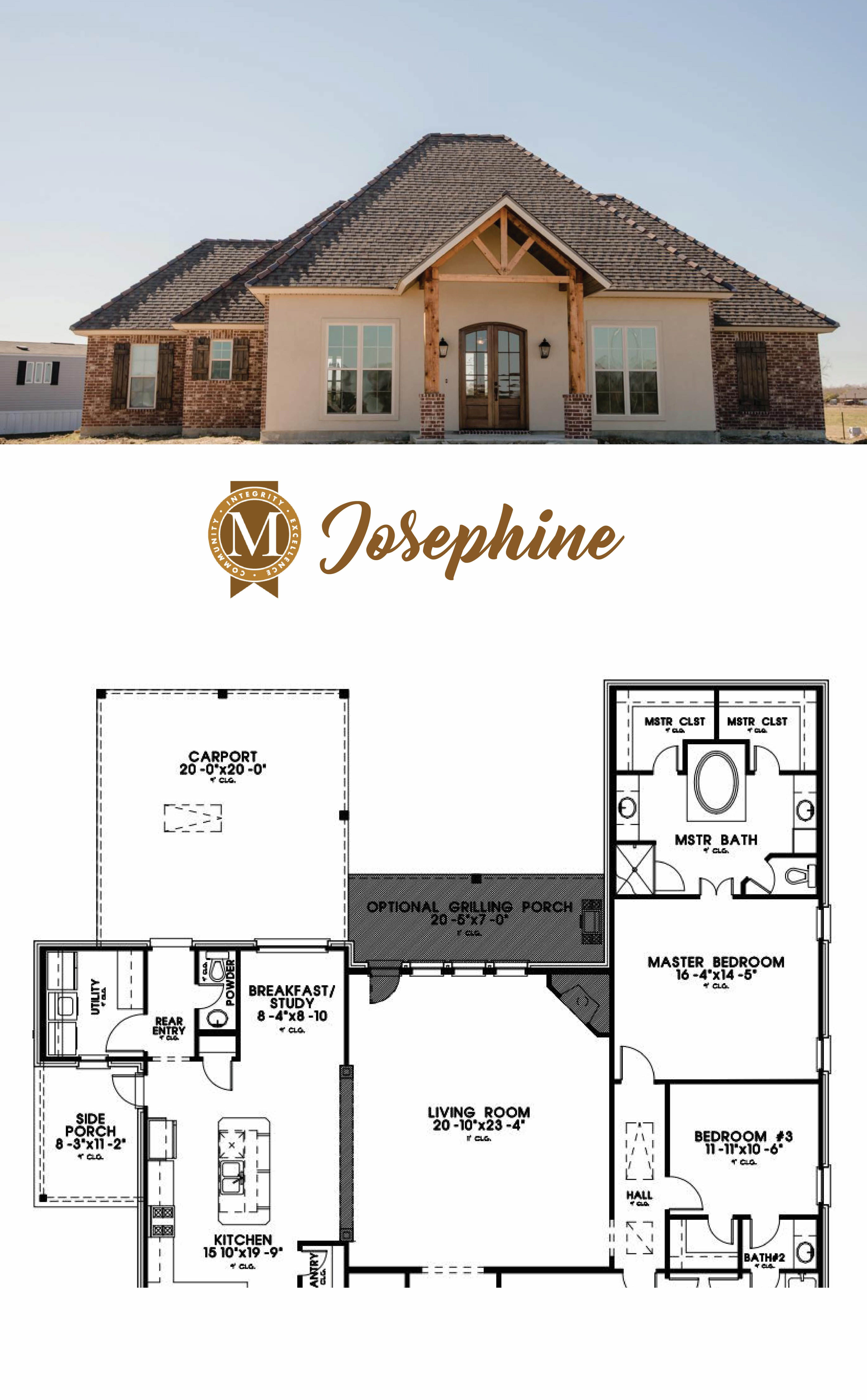 Josephine Floor Plan Living Sq Ft 2 472 Bedrooms 3 Baths 2 5 Lake Charles Lafayette Baton Rouge Louisiana House Roof Design Garage House Plans House Plans