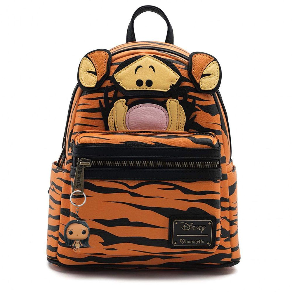 61f80b98873a Disney Winnie the Pooh Tigger Loungefly Mini Backpack BONUS Funko ...