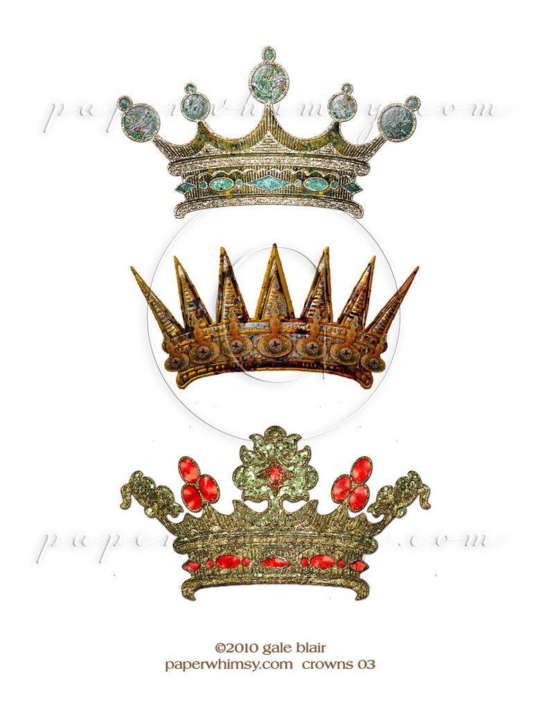 Crowns 03 Png Crown Art Art Digital Artists