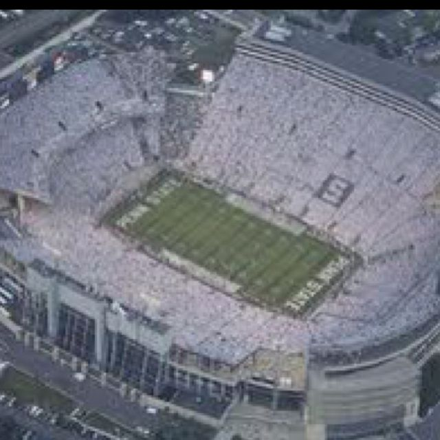 Penn State White Out Beaver Stadium Penn State Nittany Lions Football Penn State Football Stadium