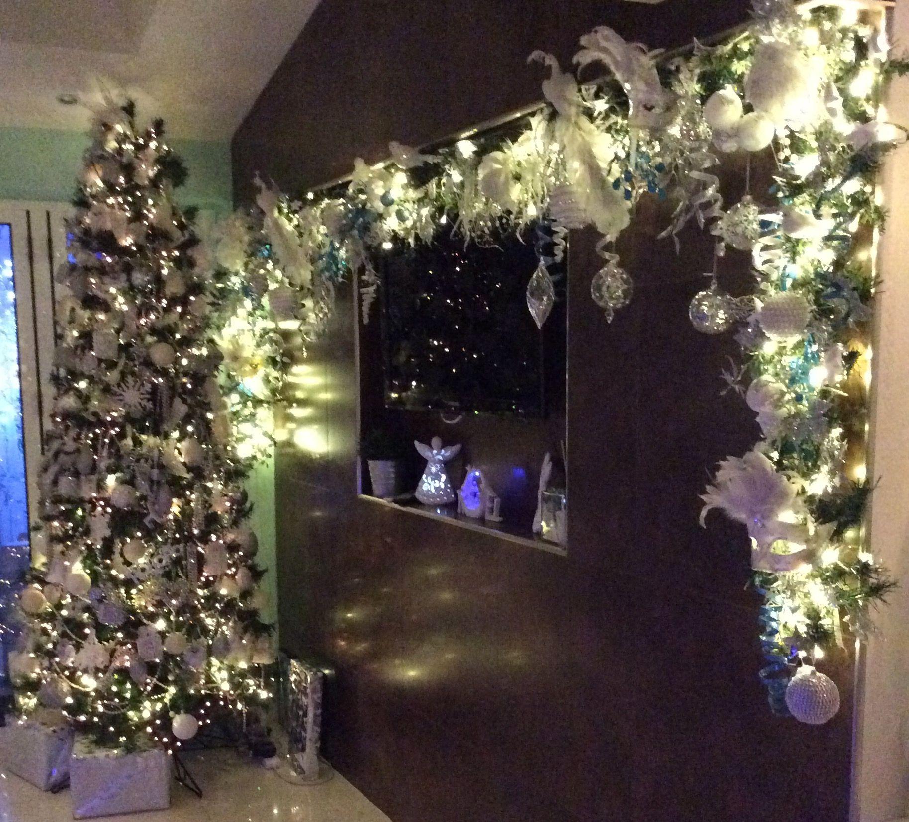 Christmas tree and Garland Christmas Tree Bling 2016
