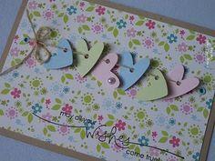 Sweet card! love the hearts
