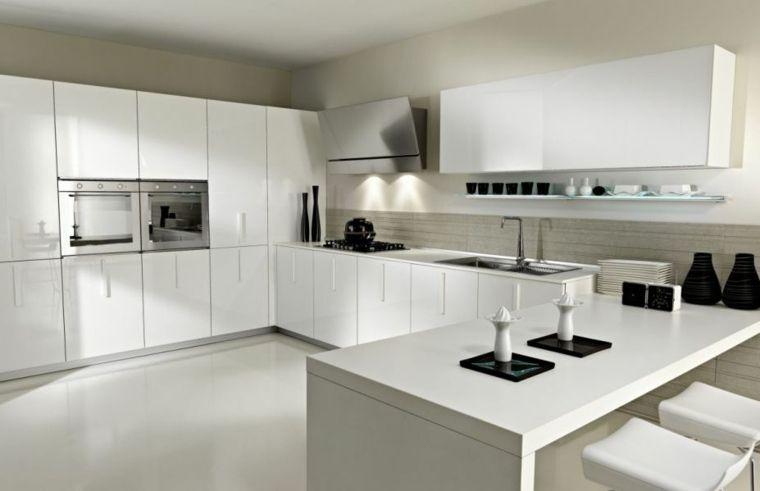 Etonnant Cuisine Laquee Blanche Ikea #5: Cuisine Blanche