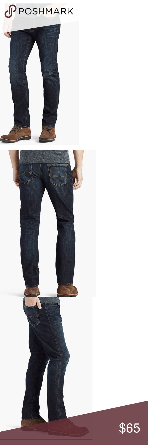 c57c6b14c6a Mens Lucky Brand 410 Jeans 36 x 32 Mens Lucky Brand jeans in the 410  Athletic Slim fit. Mid-rise