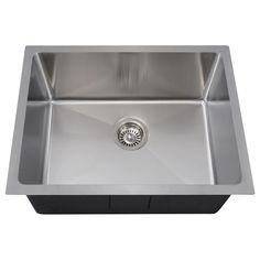 Unique Undermount Bar Sink White
