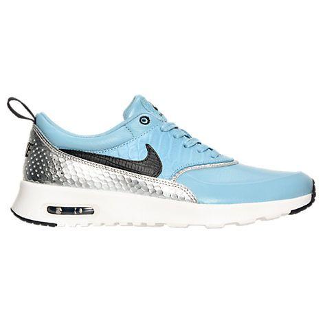 NIKE WOMEN'S AIR MAX THEA LX CASUAL SHOES, BLUE. #nike #shoes #