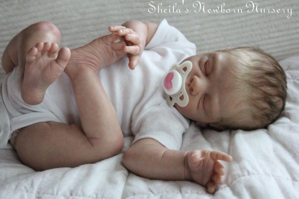 Sheila's Newborn Nursery Reborn Freya by Tina Kewy limited Edition