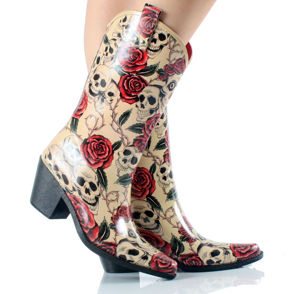 Details About Corkys Skull Roses Nomad Rubber Rodeo