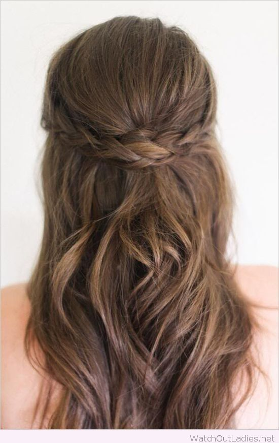 1000 Ideas About Formal Hairstyles Down On Pinterest Down Hair Styles Medium Length Hair Styles Hair Lengths