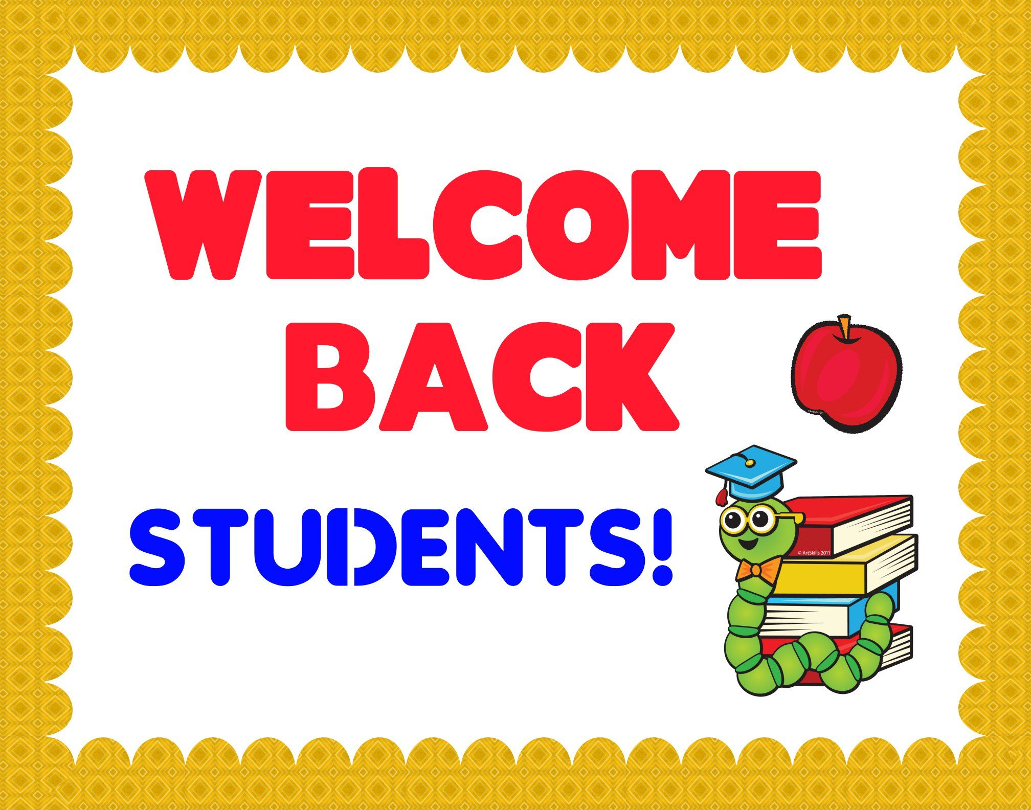 Make A Welcome Back To School Poster