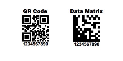 2D Barcode Symbologies | Data Matrix | Coding, Projects
