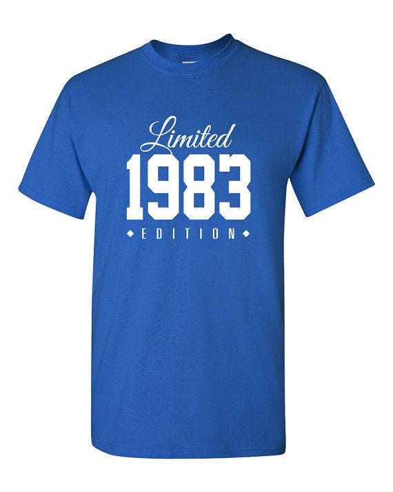 1983 Limited Edition 33rd Birthday Party Shirt,33 years old shirt, limited edition 33 year old, 33rd birthday party tee shirt TH-124