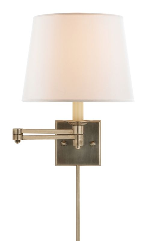 Eaves Swing Arm Sconce Ralph Lauren With Images Swing Arm