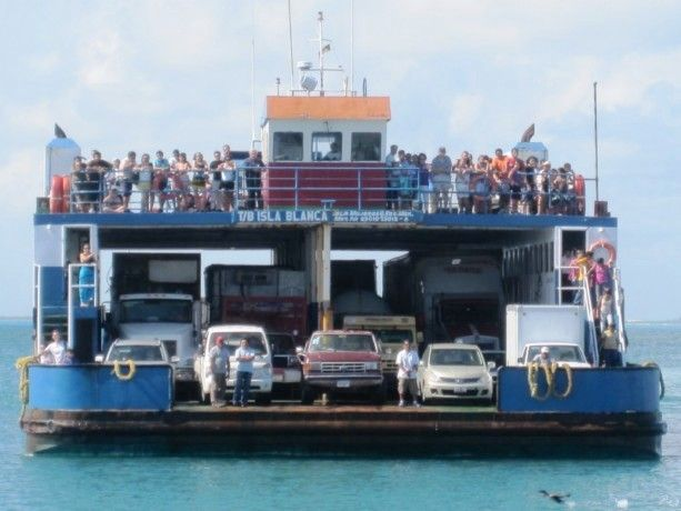 Car Ferry Cancun Sink Or Float Pinterest Cancun And Cars
