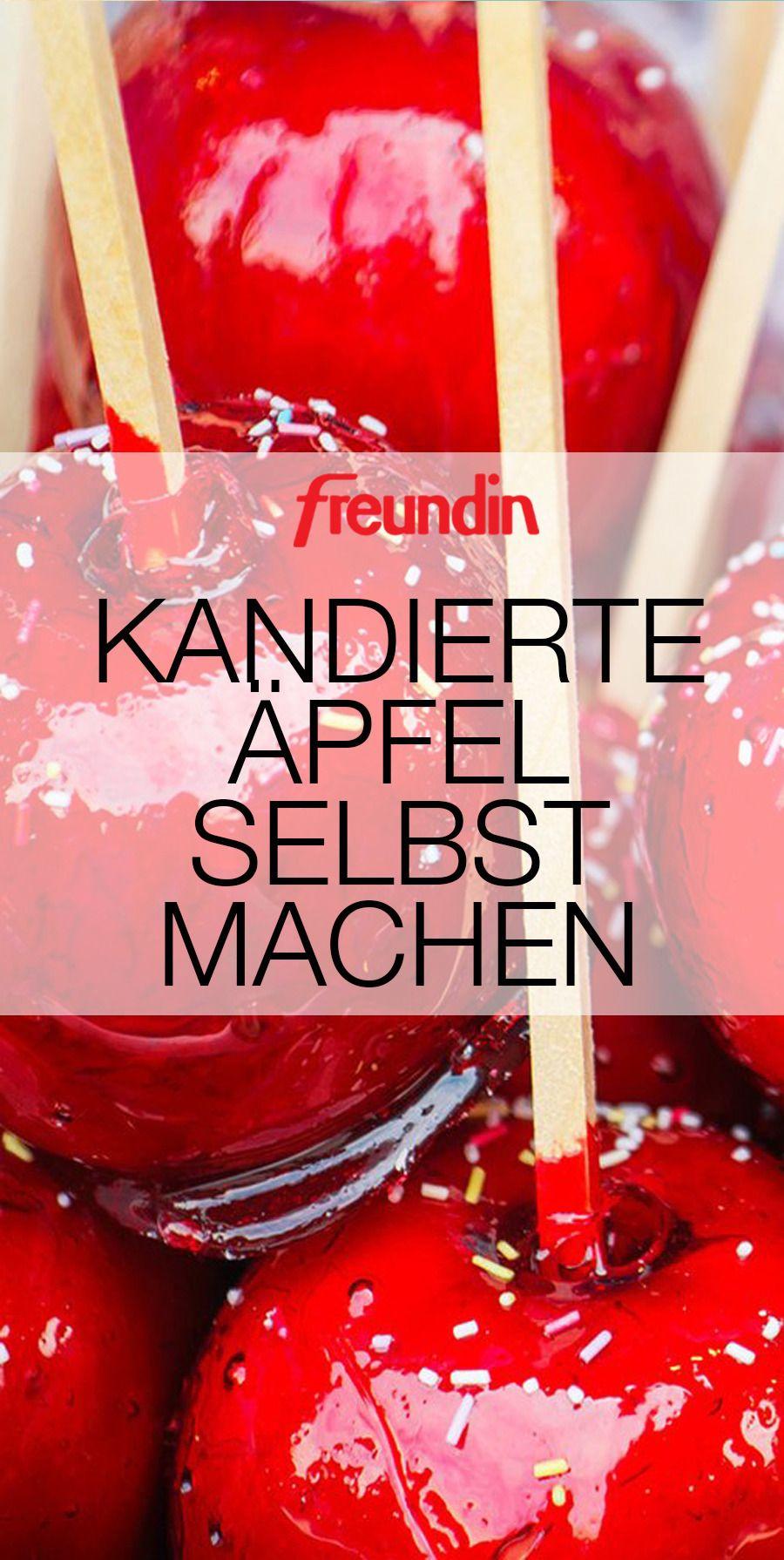 Kandierte Äpfel selbst machen | freundin.de