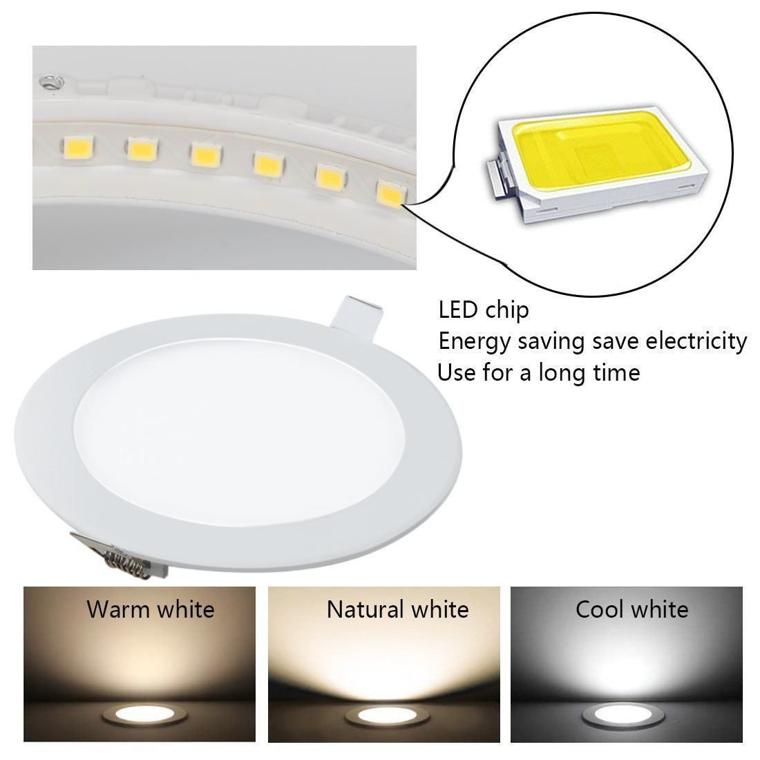 Ultra Thin Recessed Led Light Flat Panel Ceiling Down Light