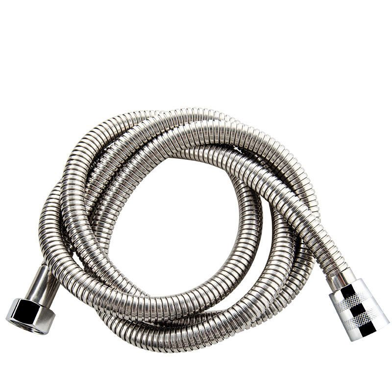Bathroom 1 5m 2m 3m Flexible Stainless Steel Shower Head Accessory Thickened Spring Shower Head Hose Spring Shower Shower Heads Head Accessories