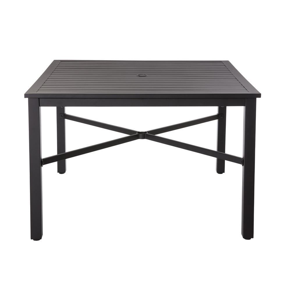 metal outdoor table patio dining table