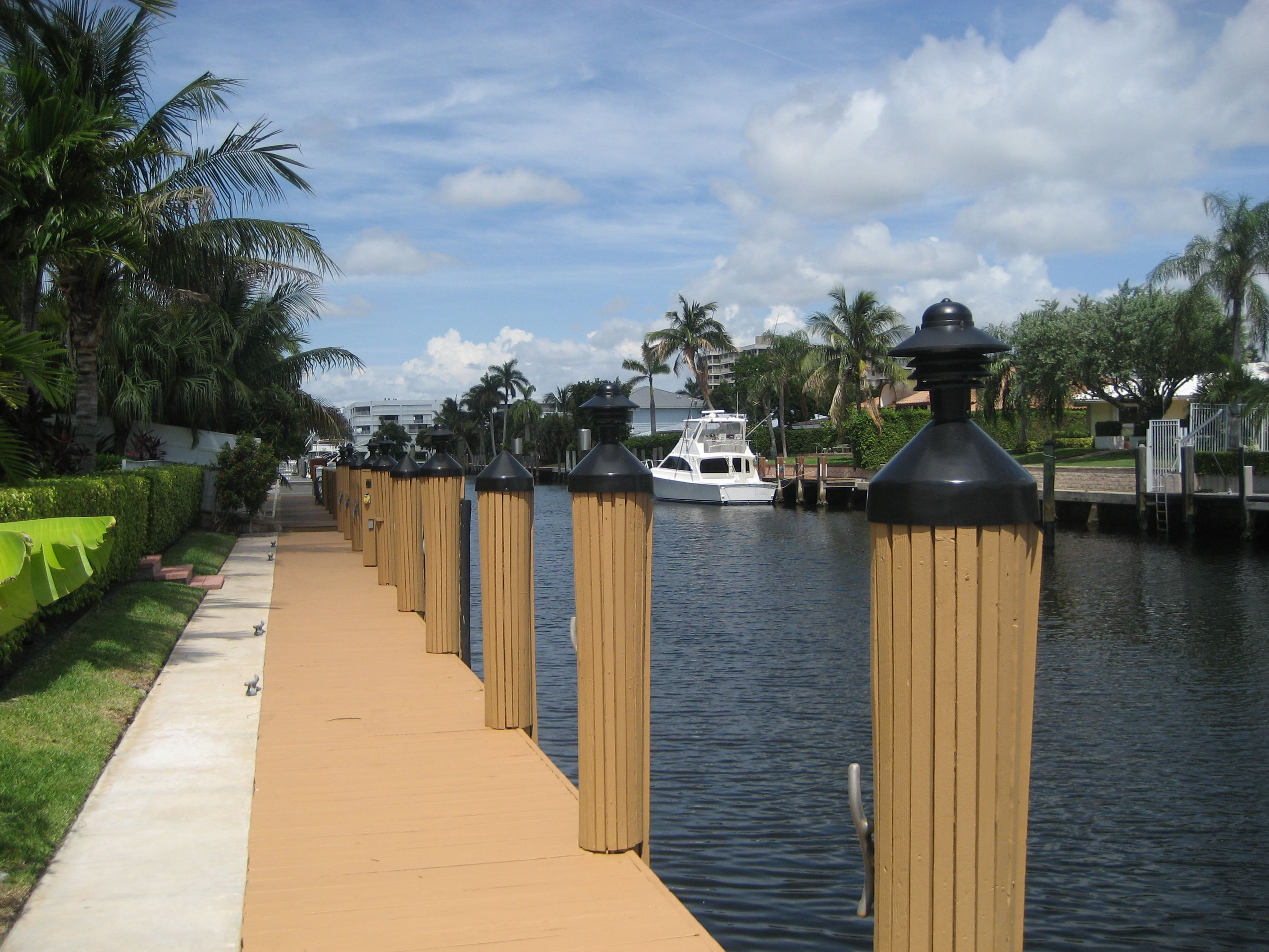 Dress Up The Pilings With Decorative Slats And Add Some