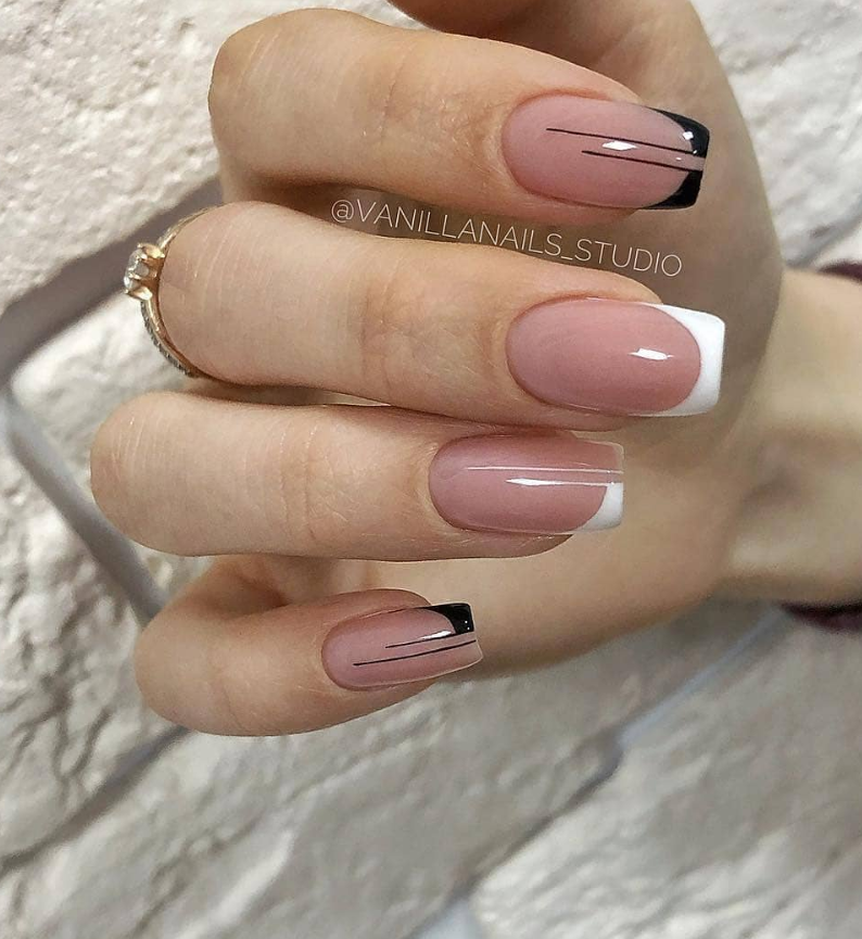 50 Cute Short Acrylic Square Nails Design And Nail Color Ideas For Summer Nails Page 16 Of 51 With Images Square Nail Designs Cute Acrylic Nail Designs Nail Colors
