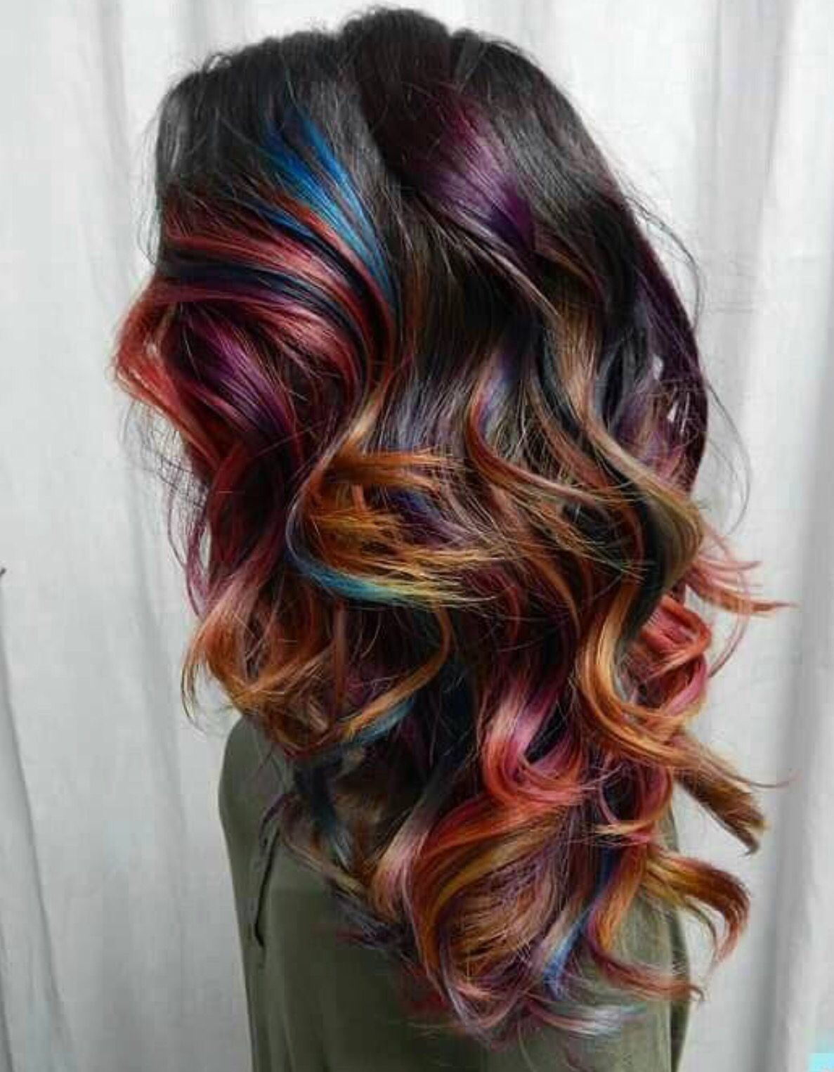 love multicolor! | hair is my thingy! in 2018 | hair, hair styles