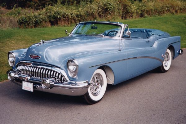 1953 BUICK SKYLARK CUSTOM CONVERTIBLE –  – Barrett-Jackson Auction Company – World's Greatest Collector Car Auctions