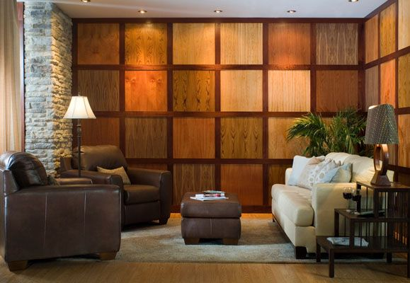Decorative Wood Walls cool panel system styled for ampac. photopat hood