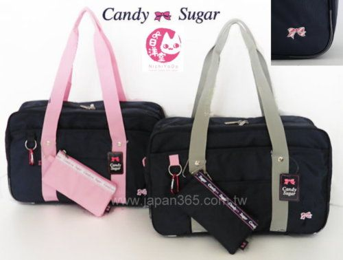 CANDY SUGAR Japanese School Bag(nylon basic)NichiYoDo Harajuku POP Cosplay 5cbf79fae5c0c