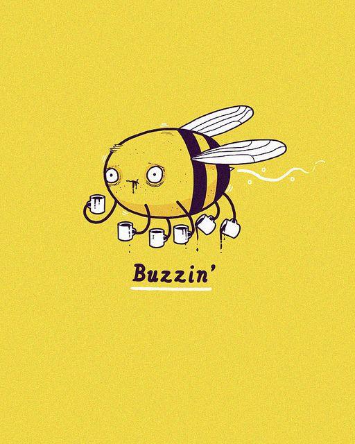 Buzzin by randyotter | #Coffee