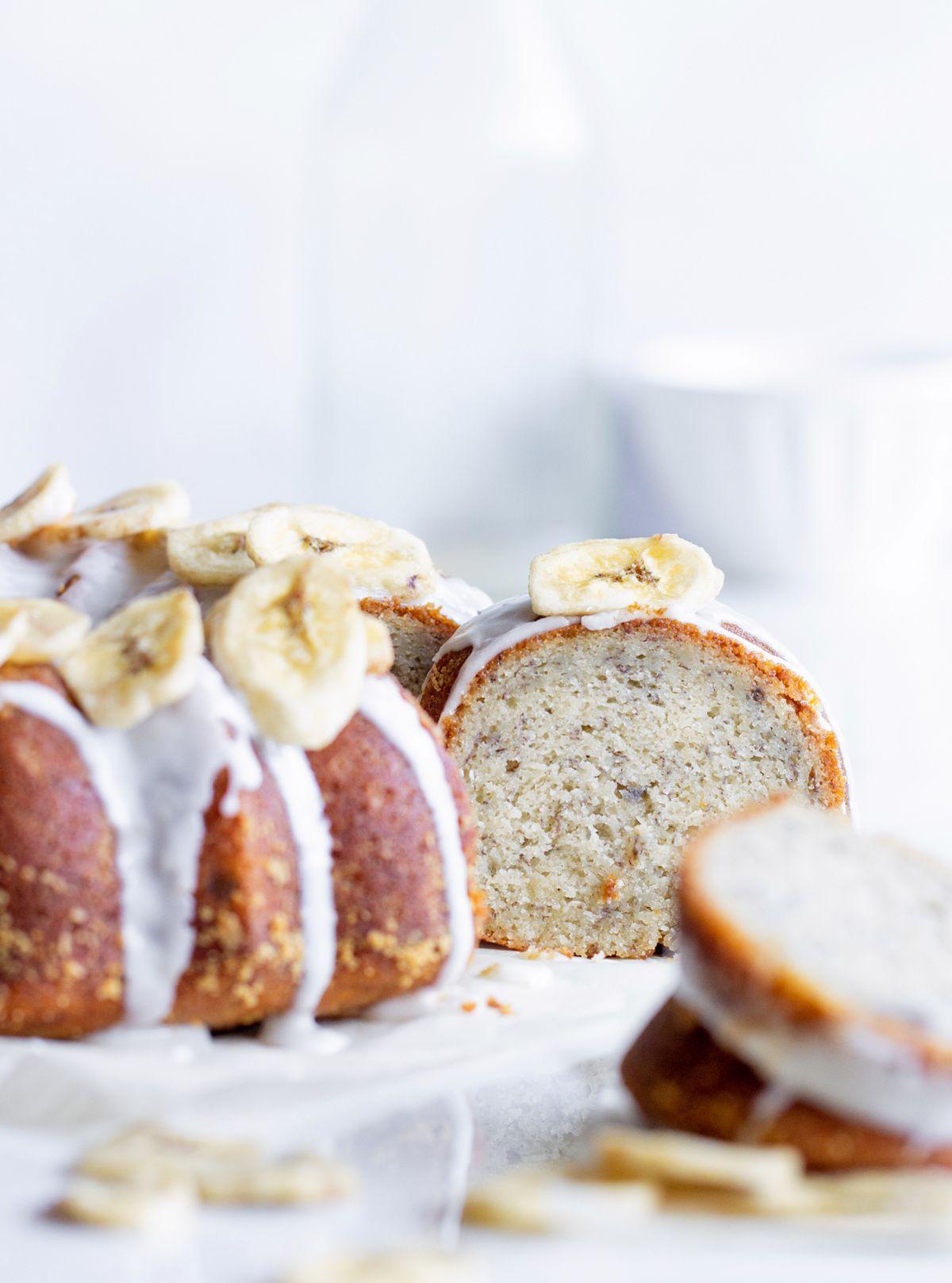 Buttermilk Banana Bundt Cake Recipe In 2020 Banana Bundt Banana Bundt Cake Bundt Cake