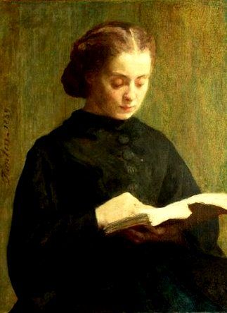 Reading, 1859 - Henri Fantin-Latour