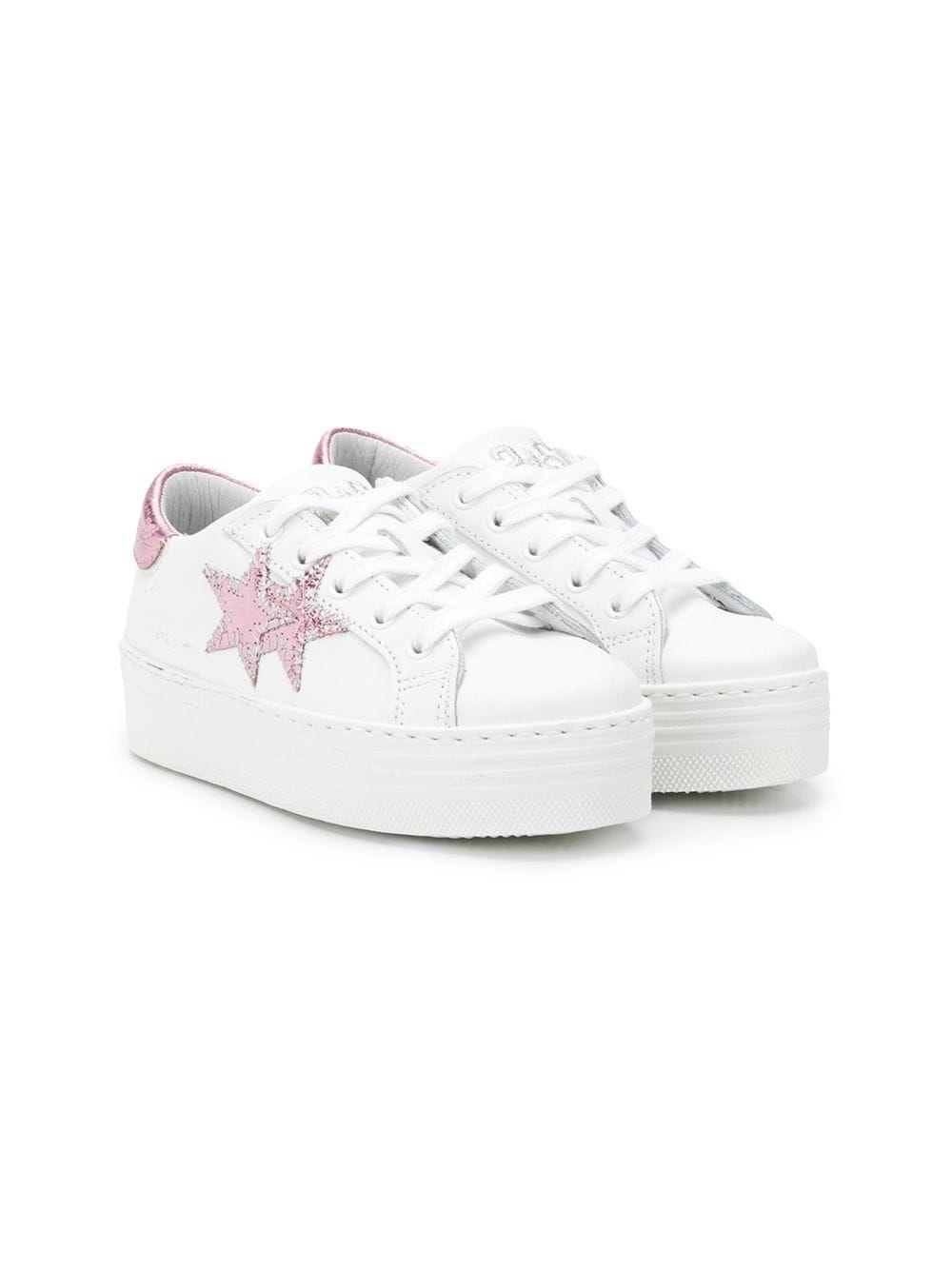 Star Patch Platform Sneakers - Farfetch