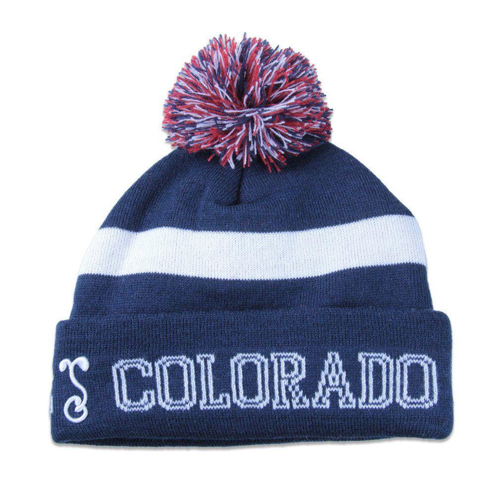 c588a04fe91 College Colorado Flag Beanie - Grassroots California - 2