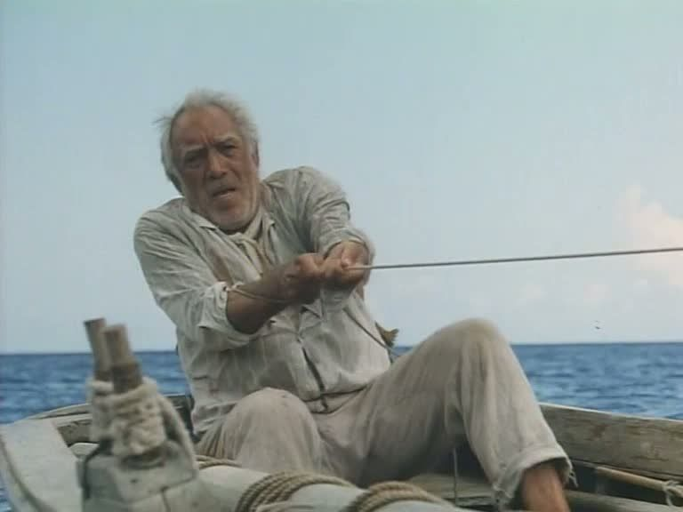 Quote From Old Man And The Sea: The Old Man And The Sea...Anthony Quinn...he Always Gave A