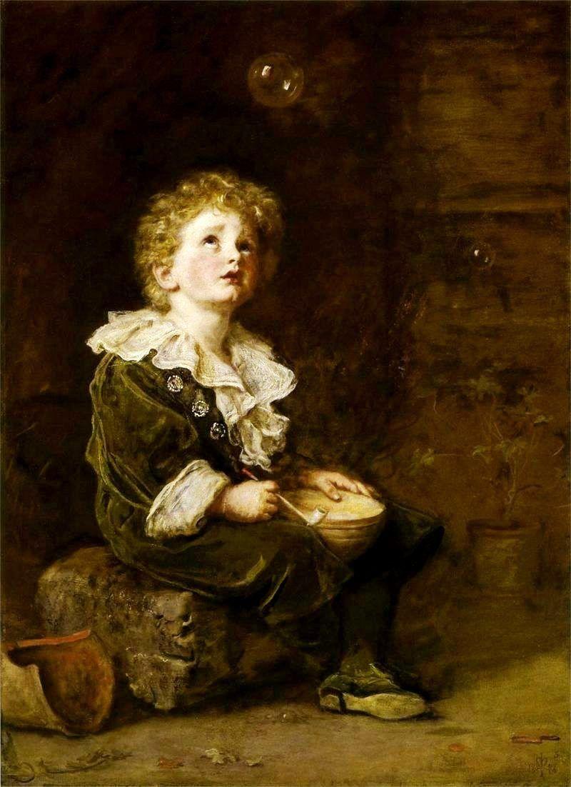 Bubbles - Sir John Everett Millais, 1886