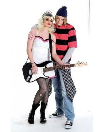 90\'s Grunge Rockers Couple Costumes | Couple Costumes | Pinterest ...