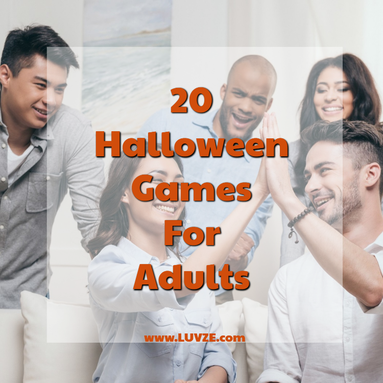 20 Fun Halloween Games For Adults (With images) Fun