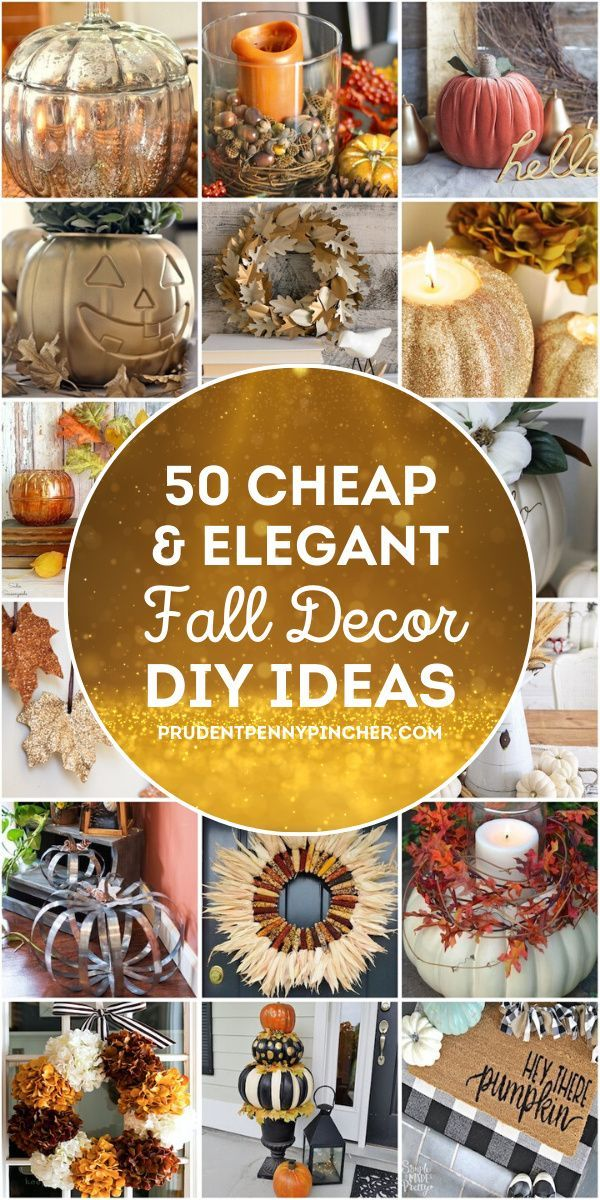Photo of 50 Cheap and Elegant Fall Decorations