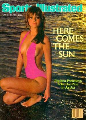 7c88a76d36398 Sports Illustrated Swimsuit Issue - 1984 22 swimsuit photographs featuring   Paulina Porizkova (cover)