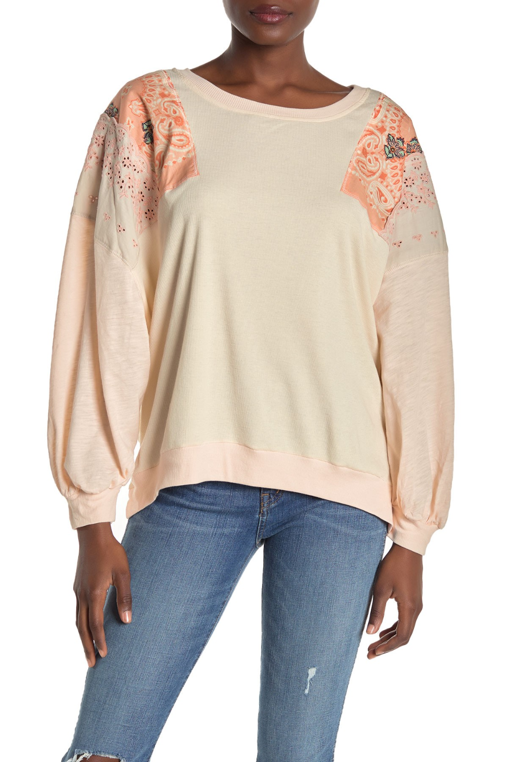 Free People Feelin It Embroidered Shirt In 2020 Embroidered