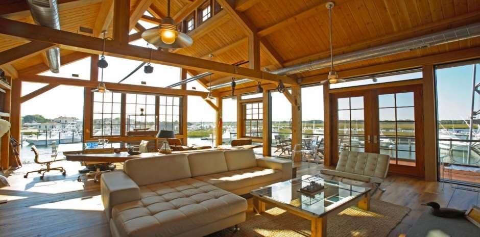 maison en bois poteaux poutres la maison en bois de luxe. Black Bedroom Furniture Sets. Home Design Ideas